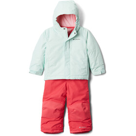 Columbia Buga Set Toddler, sea ice sparklers print/pink orchid